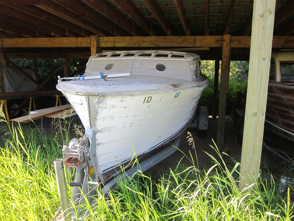Chris craft express cruiser 23 1946 mccall boat works for Chris craft express cruiser for sale