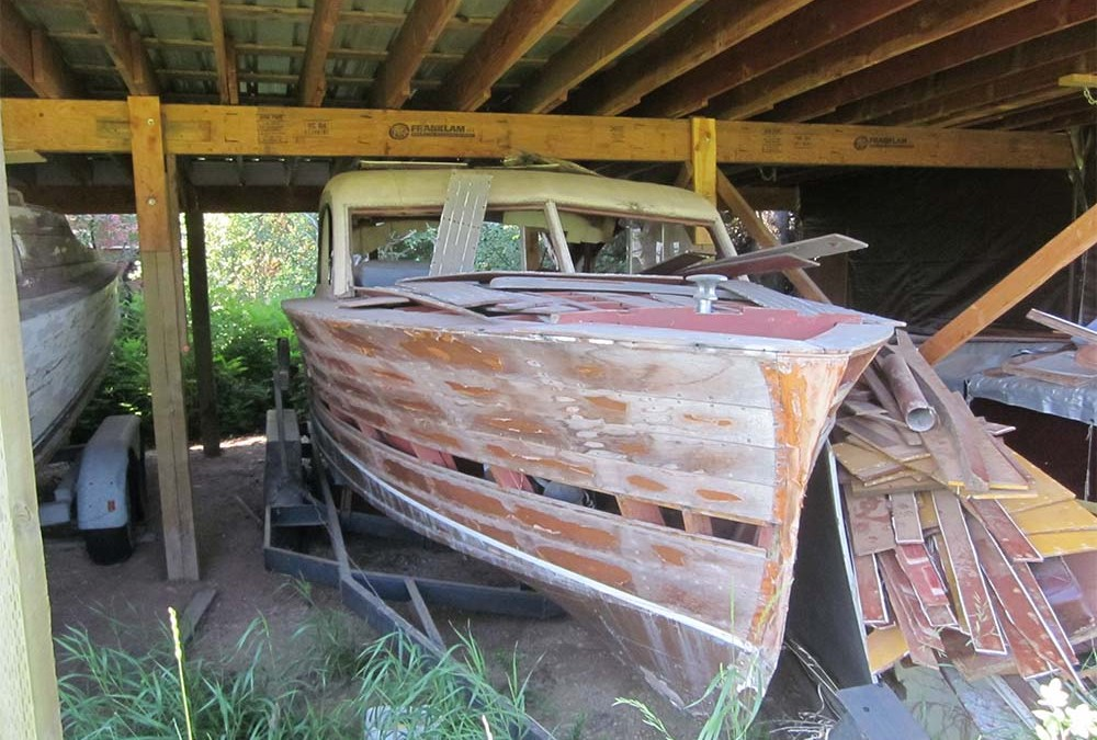 Chris Craft S22 Full Boat 1952