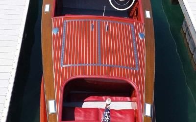 Chris Craft  Racing Runabout 19' 1952 Happy Days