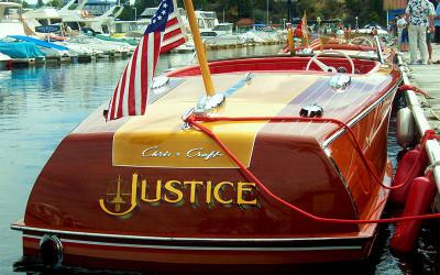 Chris Craft Custom 20  1946 Justice