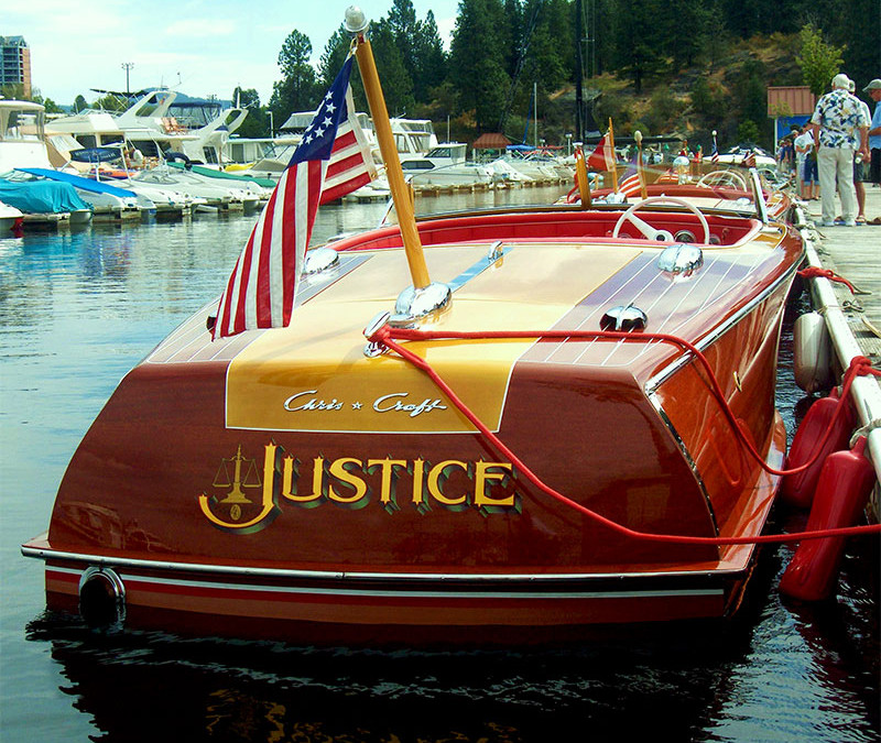 Chris Craft Custom 20  1946 Justice