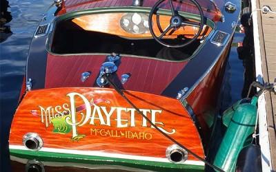 GAR WOOD Speedster Replica 2001 Miss Payette