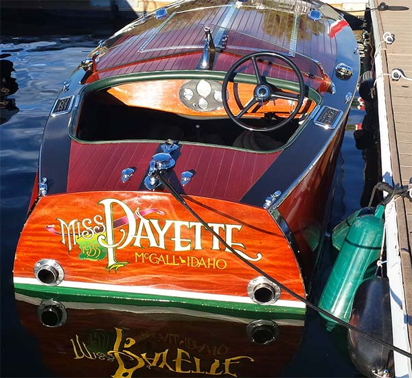 GAR WOOD Speedster Replica 2001 Miss Payette