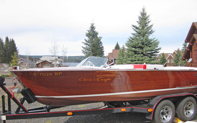 Chris Craft Sportsman 17' 1960 – Miss Barbara