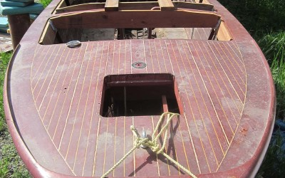 U-22 Chris Craft 1946 SOLD – full restoration