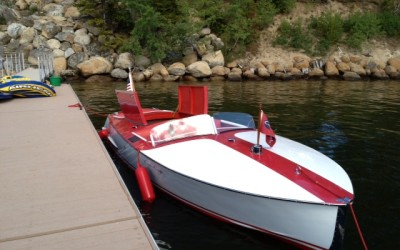 Chris Craft racing Runabout 19′ 1948  – Mojo