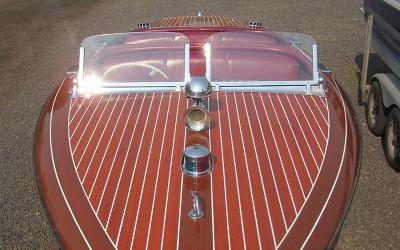 Chris Craft 19′ Barrel Back 1940  Godspeed REDUCED! $56,500