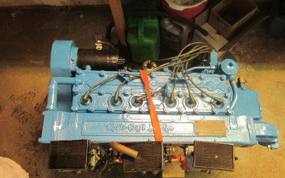 Chris Craft Hercules KBL 6 Cyl. Tri Carburetor 1956