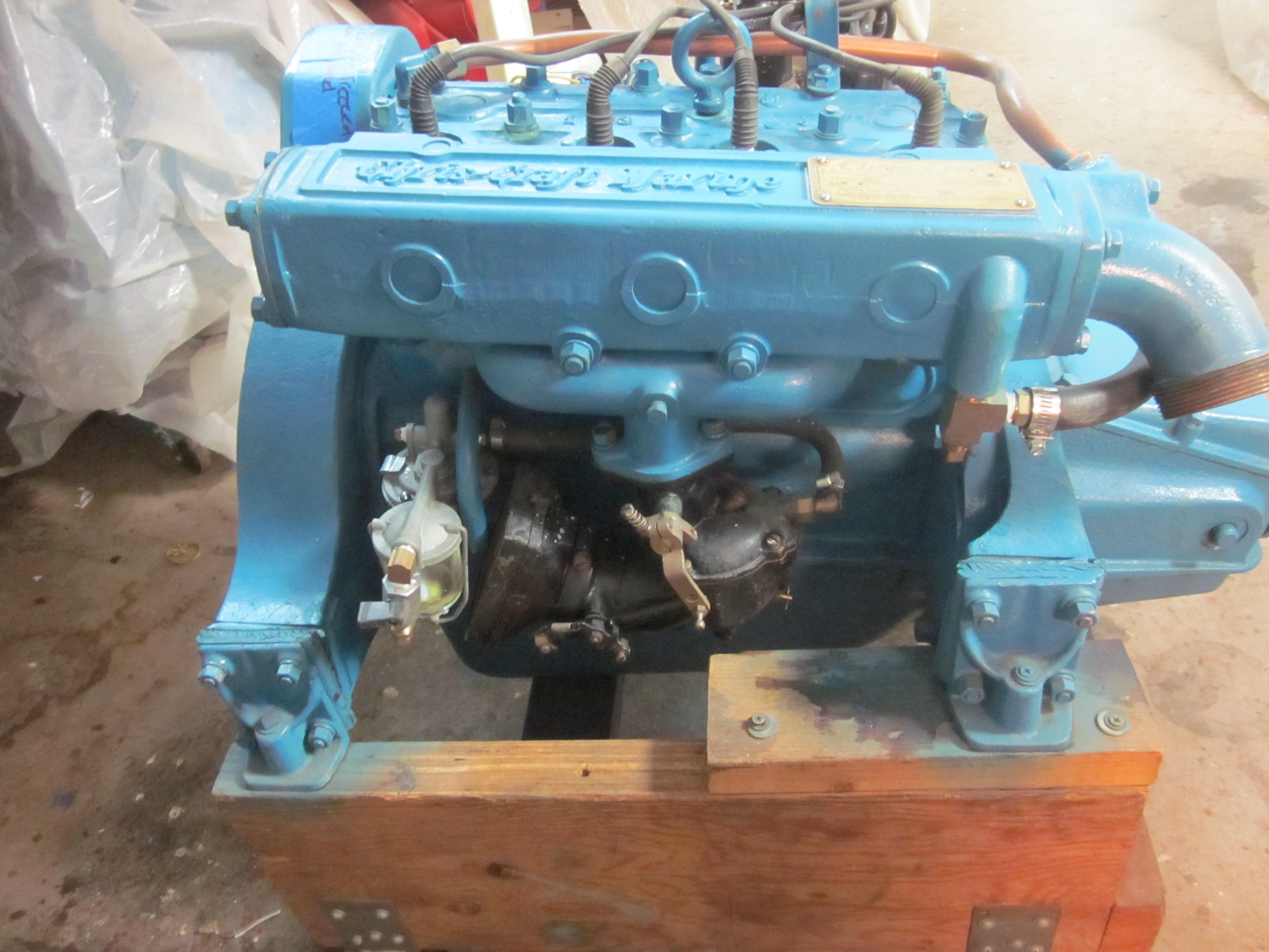 Chris Craft Hercules B 4 Cyl 1956 Sold Mccall Boat Works