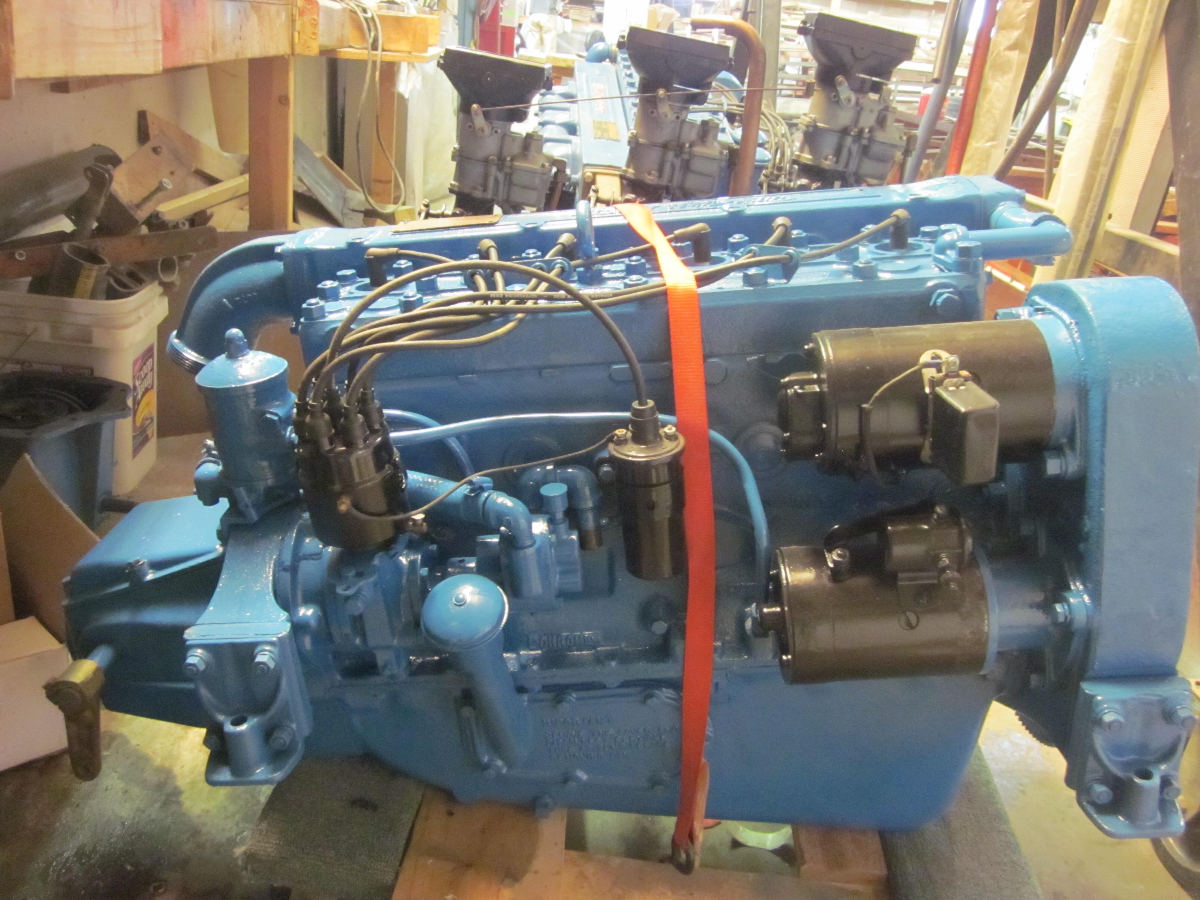 Chris Craft Hercules KBL 6 Cyl  Tri Carburetor 1956   MCCALL