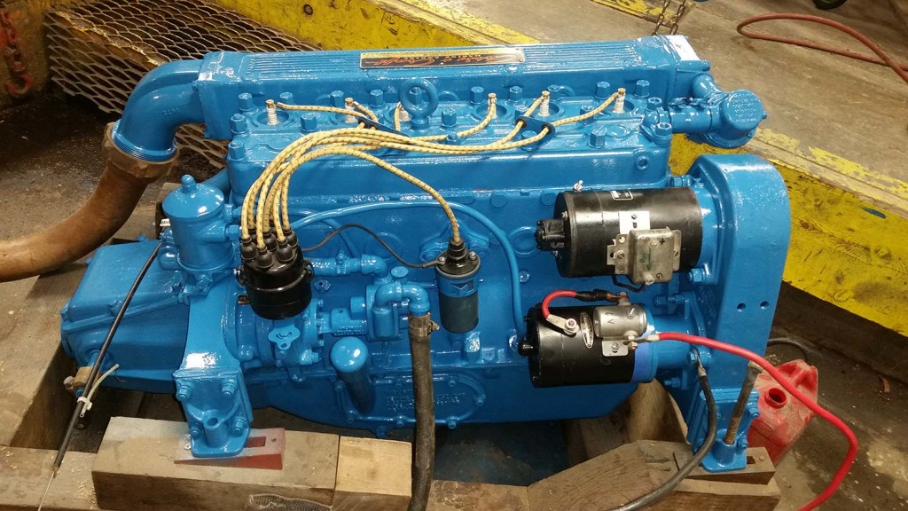 X on Rebuilt Chevy 6 Cylinder Engines