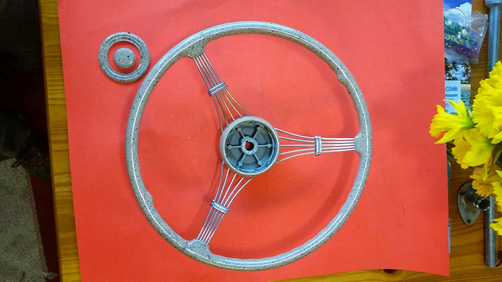 New banjo steering wheel show quality $1200
