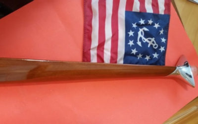 Chris Craft, Century Boat Stern Flag Pole