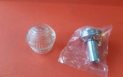 Chris Craft.  KS Glass Globe. Mint Condition