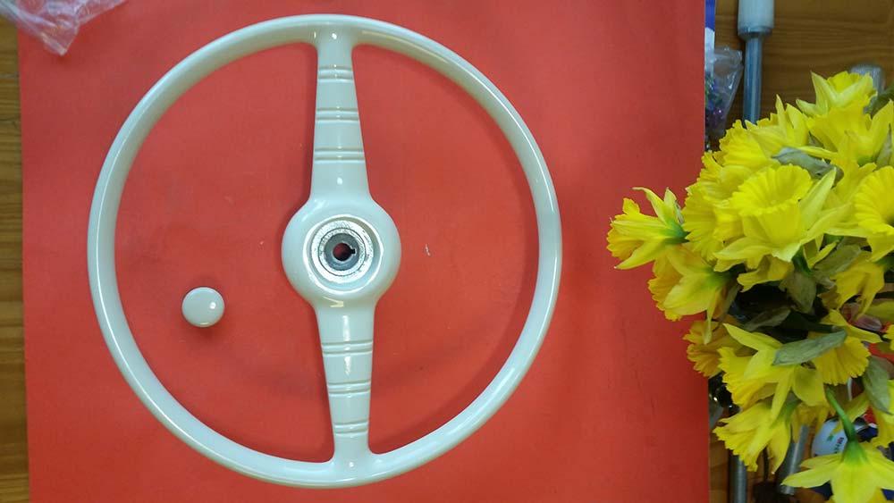 """Chris Craft, Gar Wood 17"""" Steering Wheel. $550"""