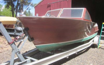 Chris Craft, 1961 24 ft Sportsman Cormorant