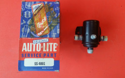 Auto Lite 6V Starter Solenoid