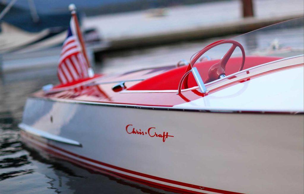 Chris Craft 1948 19 ft Red/White Racer Cherry Float $67,000