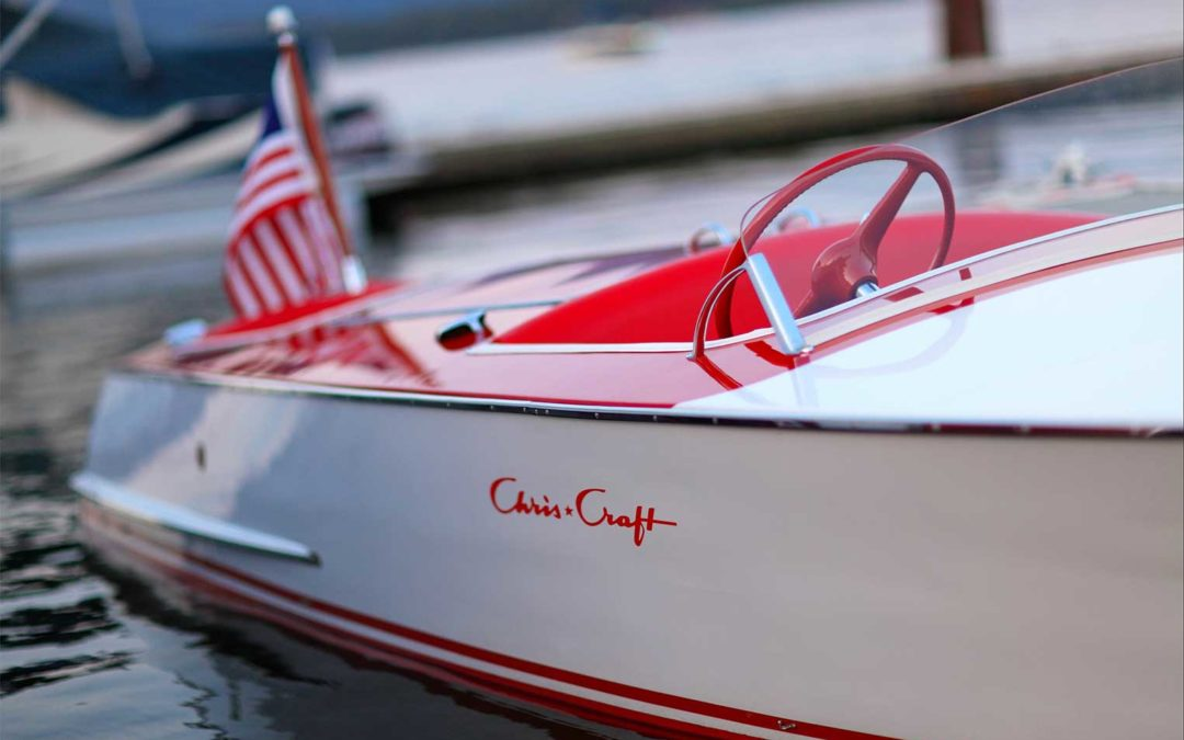Chris Craft 1948 19 ft  Red/White Racer Cherry Float $67,000 REDUCED $51,000!