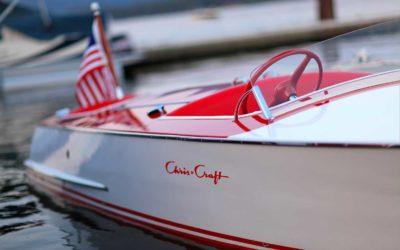 Chris Craft 1948 19 ft  Red/White Racer Cherry Float