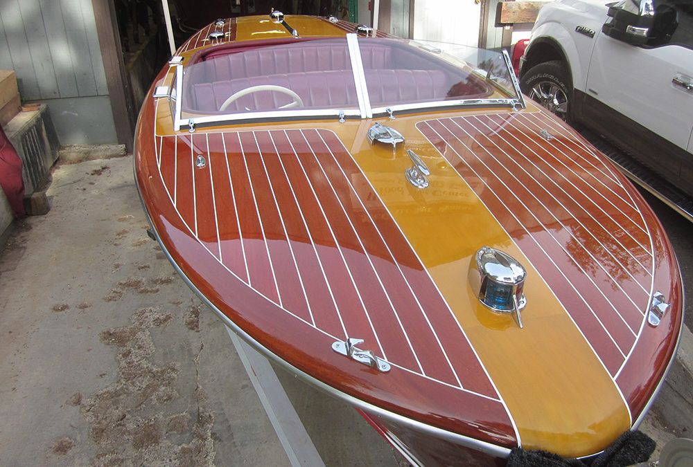 "Chris Craft ""Custom 20"" 1946 HideawaySOLD"