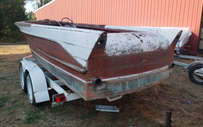 Chris Craft 1957 21 ft Continental $7,500.00 REDUCED $5,500