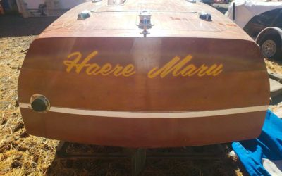 Chris Craft, 1946 17 ft Deluxe w/ new custom fit trailer$17,500.00 REDUCED $15,500