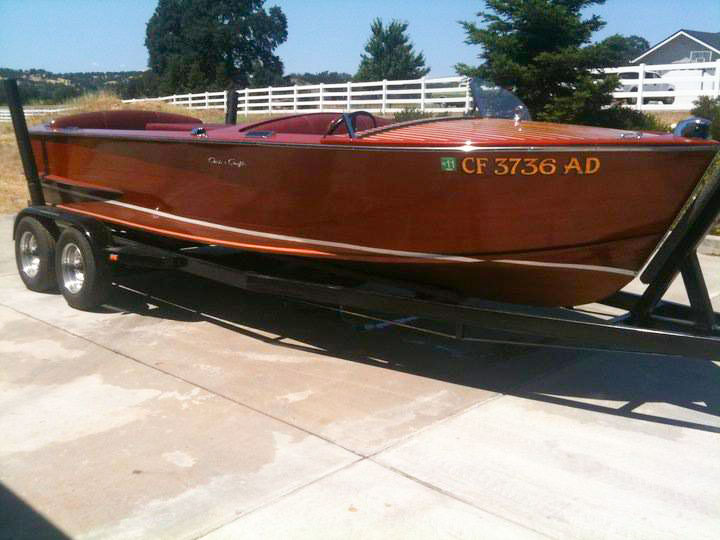 Chris Craft SS 1954 20FT Needs new bottom, current fiberglass $18,000