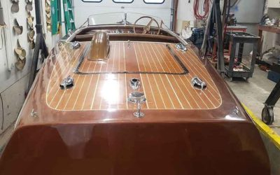 Chris Craft, 1948 17 ft Deluxe, includes cover & trailer, ready to go!