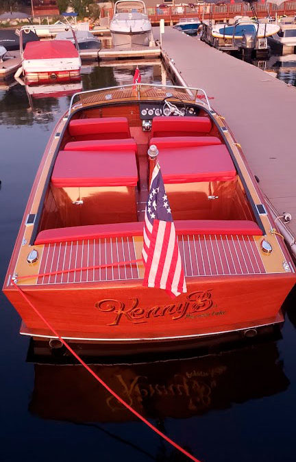 1956 Chris Craft 26′ Continental Twin Screw Completely Restored! Kenny B