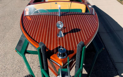 Chris Craft 1955 18′ Utility/Runabout only $16,500!