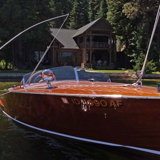 <i>Spindrift</i> – 1954 Chris Craft 19′ Racing Runabout Hull #503