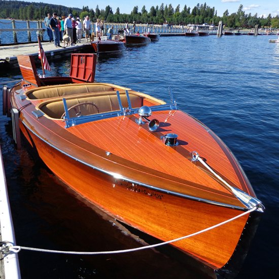 <i>Everan Zephyr</i> – 1940 19′ Chris Craft Custom Runabout