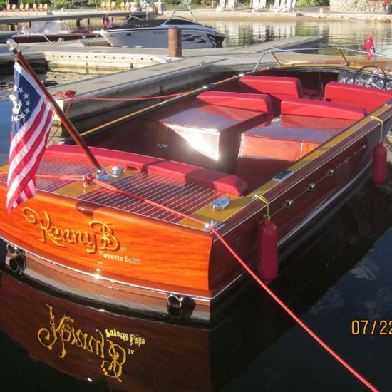 <i>Kenny B</i> – 1956 Chris Craft 26′ Continental