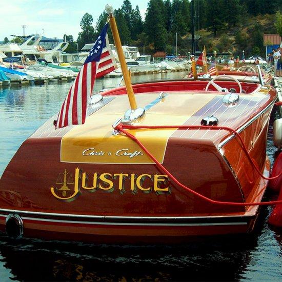 <i>Justice</i> 1946 CC Custom 20′ Hull # R-20-032